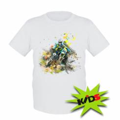 Дитяча футболка Kawasaki Art