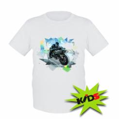 Дитяча футболка Kawasaki Ninja Art