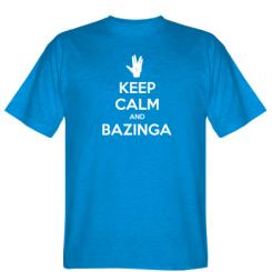 Футболка Keep Calm and Bazinga