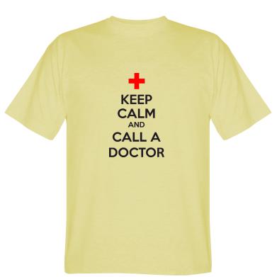 Футболка KEEP CALM and CALL A DOCTOR