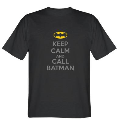 Футболка KEEP CALM and CALL BATMAN