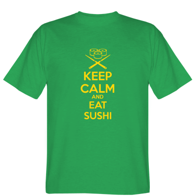 Футболка KEEP CALM and EAT SUSHI