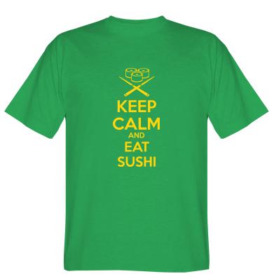 Футболка KEEP CALM and EAT SUSHI