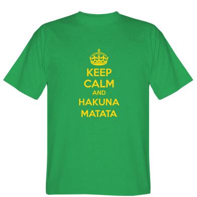 Футболка KEEP CALM and HAKUNA MATATA