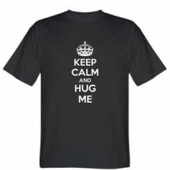 Футболка KEEP CALM and HUG ME