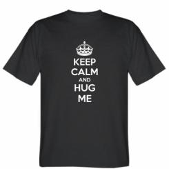 Футболка KEEP CALM and HUG ME