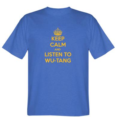 Футболка KEEP CALM and LISTEN to WU-TANG