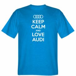 Футболка Keep Calm and Love Audi