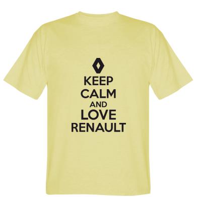 Футболка KEEP CALM AND LOVE RENAULT