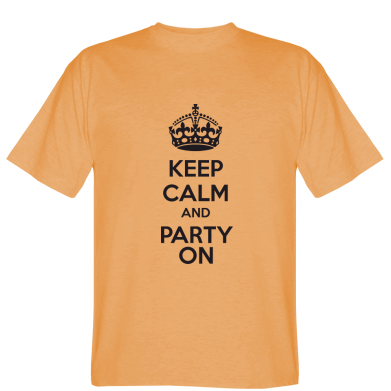 Футболка KEEP CALM and PARTY ON
