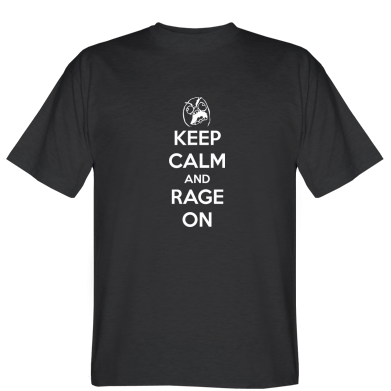 Футболка KEEP CALM and RAGE ON