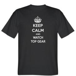 Футболка KEEP CALM and WATCH TOP GEAR