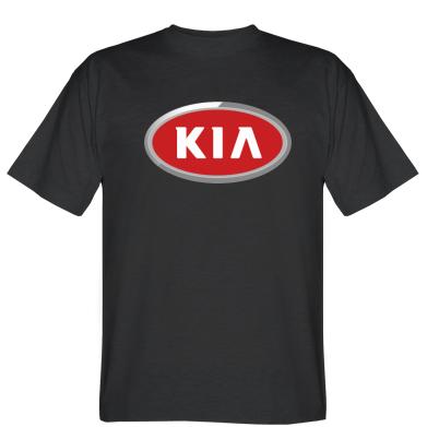 Футболка KIA Logo 3D