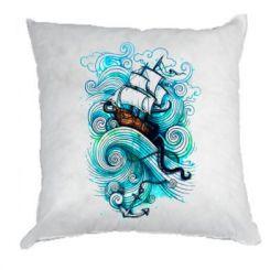 Подушка Корабель на хвилях