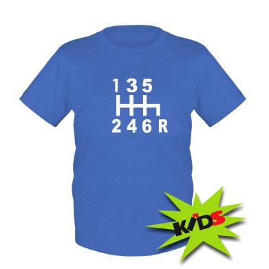 Купити Дитяча футболка Коробка передач