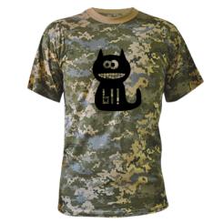 Купити Камуфляжна футболка Кішка И