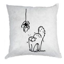Подушка Кіт та павук