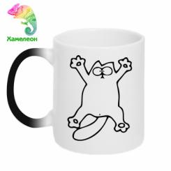 Кружка-хамелеон Кіт-зірка