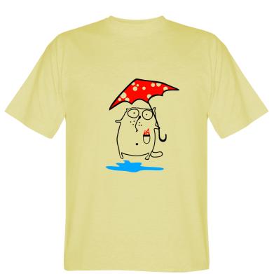 Футболка Котик з парасолькою