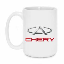 Купити Кружка 420ml Chery Logo