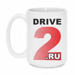Купити Кружка 420ml Drive2.ru