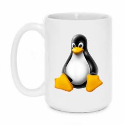 Кружка 420ml Пингвин Linux