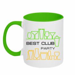 Купити Кружка двокольорова Best Party Club