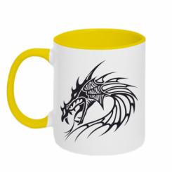 Купити Кружка двокольорова Dragon