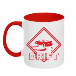 Купити Кружка двокольорова Drift