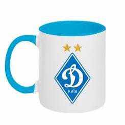 Купити Кружка двокольорова Dynamo Kiev