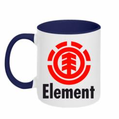 Купити Кружка двокольорова Element