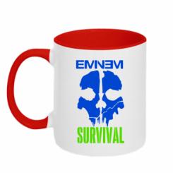 Купити Кружка двокольорова Eminem Survival
