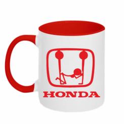 Купити Кружка двокольорова Honda
