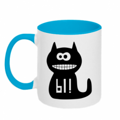 Купити Кружка двокольорова Кішка И