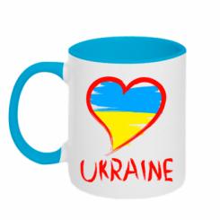 Купити Кружка двокольорова Love Ukraine