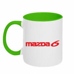 Купити Кружка двокольорова Mazda 6