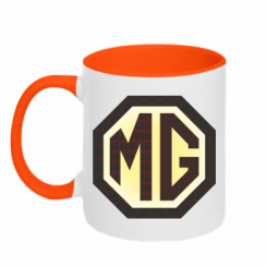 Кружка двокольорова MG Cars Logo