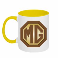Кружка двокольорова MG Cars