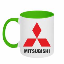 Купити Кружка двокольорова MITSUBISHI