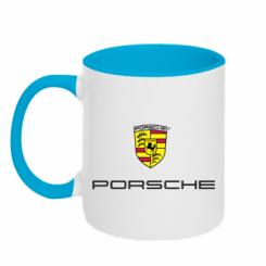 Купити Кружка двокольорова Porsche
