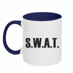 Купити Кружка двокольорова S.W.A.T.