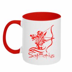 Купити Кружка двокольорова Sagittarius (Стрілець)