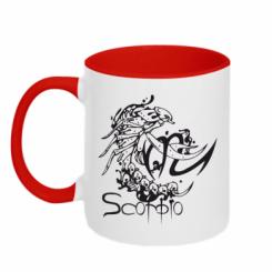 Купити Кружка двокольорова Scorpio (Скорпіон)
