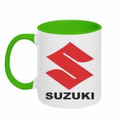 Купити Кружка двокольорова Suzuki