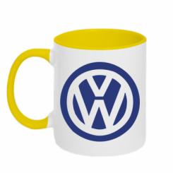 Купити Кружка двокольорова Volkswagen