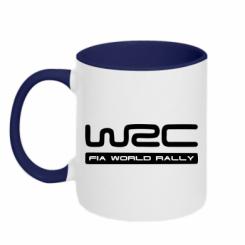 Купити Кружка двокольорова WRC