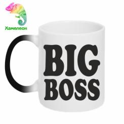 Кружка-хамелеон Big Boss