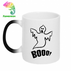 Купити Кружка-хамелеон Booo!