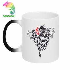Купити Кружка-хамелеон Дракон