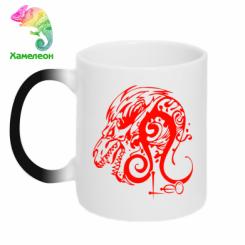 Купити Кружка-хамелеон Leo (Лев)